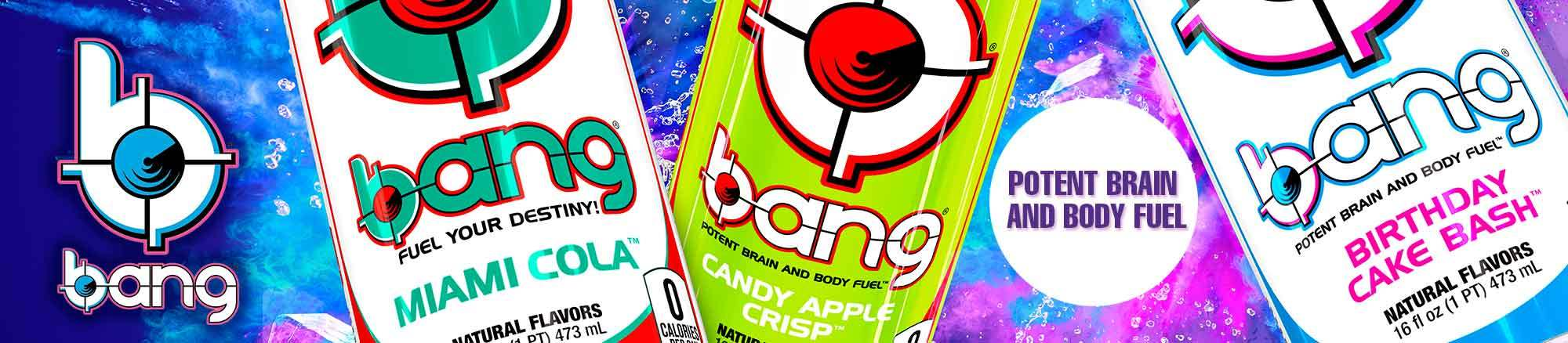 We're excited to add Bang Energy to our product lineup!