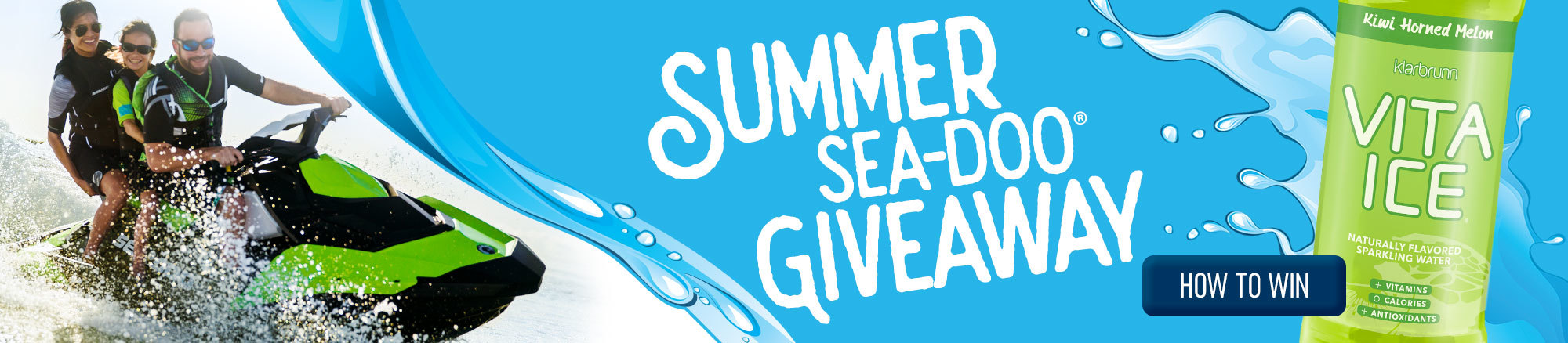 Summer Sea-Doo Giveaway - LEARN MORE